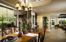 如何用绿色植物装饰家居?